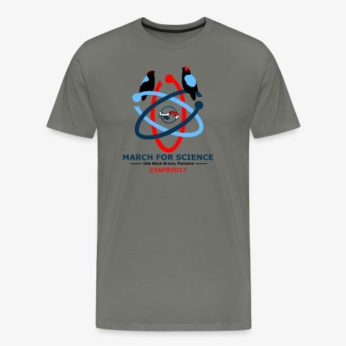 March for Science, Men's Premium - Men's Premium T-Shirt