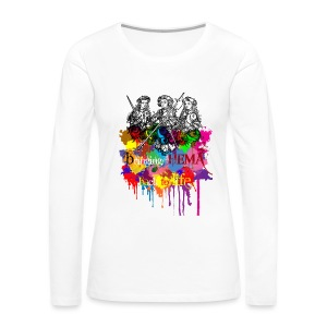 Back to Life  - Women's Premium Long Sleeve T-Shirt