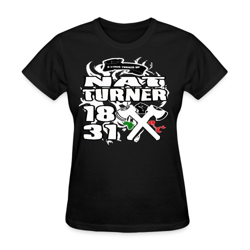 NAT ETHER TURNED UP - Women's T-Shirt