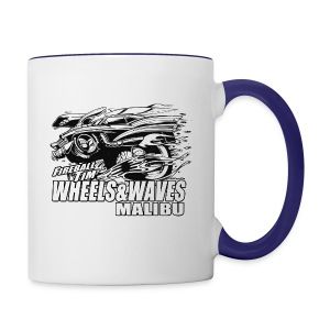 Fireball WHEELS AND WAVES MUGSHOT - Contrast Coffee Mug