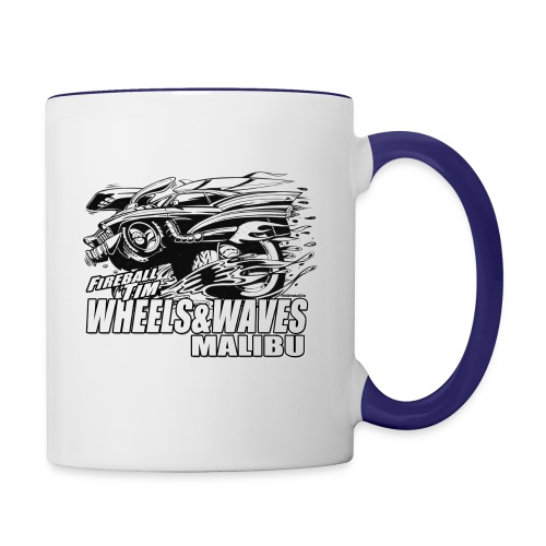 Fireball WHEELS AND WAVES MUGSHOT - Contrast Coffee Mug