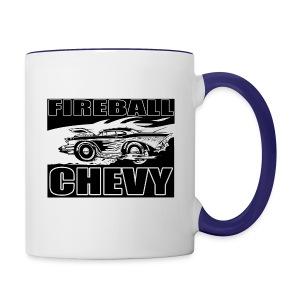 Fireball Chevy MUGSHOT - Contrast Coffee Mug