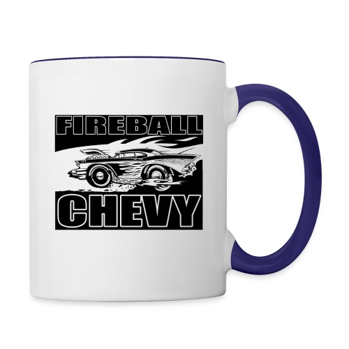 Fireball Chevy MUGSHOT - Contrast Coffee Mug