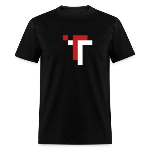 TT - RED ON BLACK - Men's T-Shirt