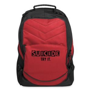 Suicide, Try it BackPack - Computer Backpack