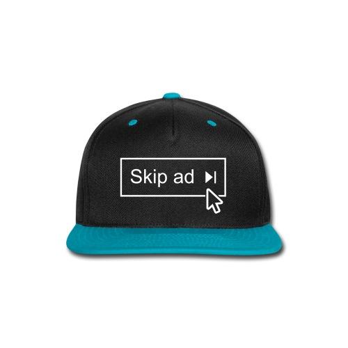 skipad_with_cursor - Snap-back Baseball Cap