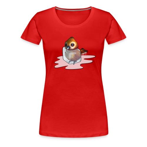 Frozen Pepe T-Shirt (Women's) - Women's Premium T-Shirt
