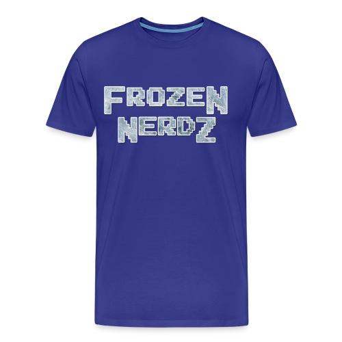 8 Bit Frozen Nerdz Logo (Men's) - Men's Premium T-Shirt