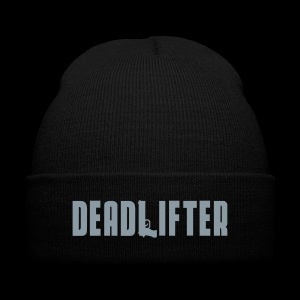 DEADLIFTER - SILVER PRINT - Knit Cap with Cuff Print