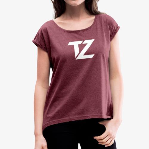 Women's Boxy Tee - Women's Roll Cuff T-Shirt