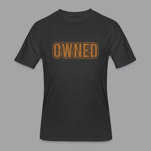 Bronze Owned Men's T-Shirt - Men's 50/50 T-Shirt