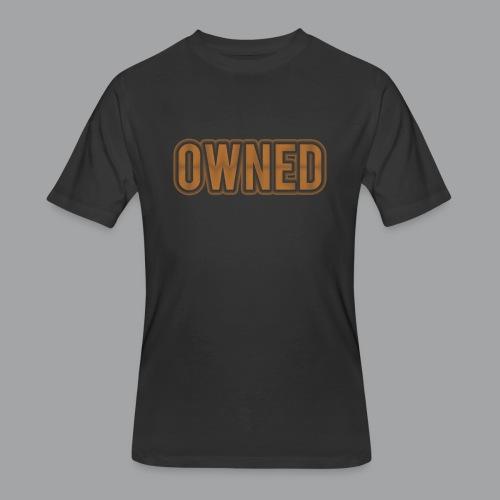 Bronze Owned Men's T-Shirt - Men's 50/50 T-Shirt