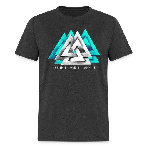 Vaknut/Proverb - White/Teal - Men's T-Shirt
