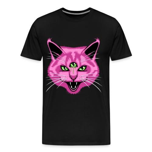 Third Eyed Cat - Men's Premium T-Shirt