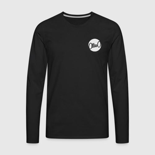 Mens Logo Long Sleeve - Men's Premium Long Sleeve T-Shirt