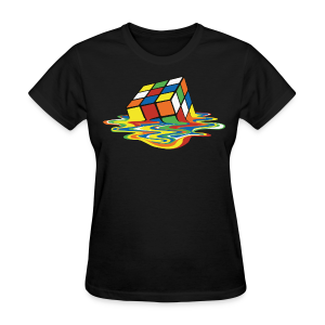 Rubik's Cube Melting Cube - Women's T-Shirt