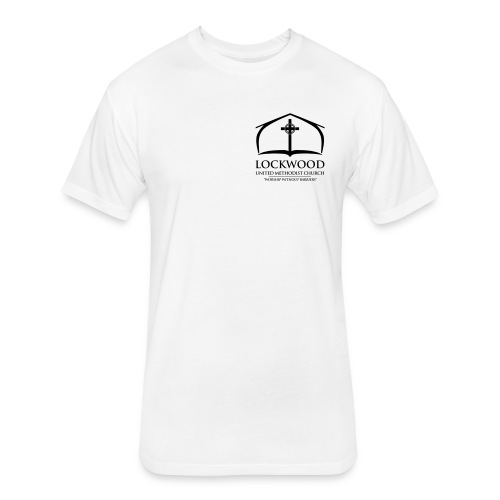 Lockwood Logo w/ Tagline (Heart) - Fitted Cotton/Poly T-Shirt by Next Level
