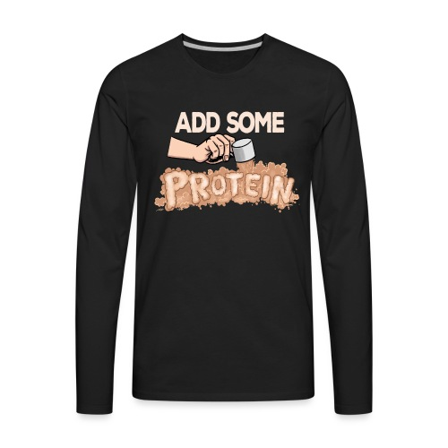 protein_darks - Men's Premium Long Sleeve T-Shirt