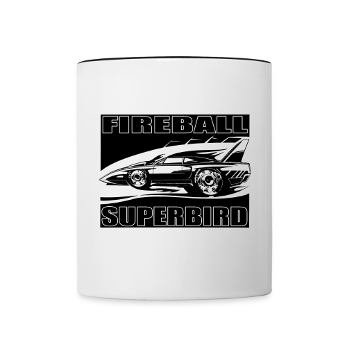 Fireball SUPERBIRD MUGSHOT - Contrast Coffee Mug