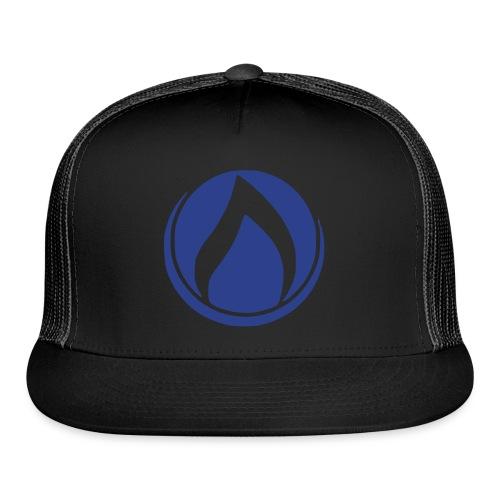 Flame Trucker Hat - Trucker Cap