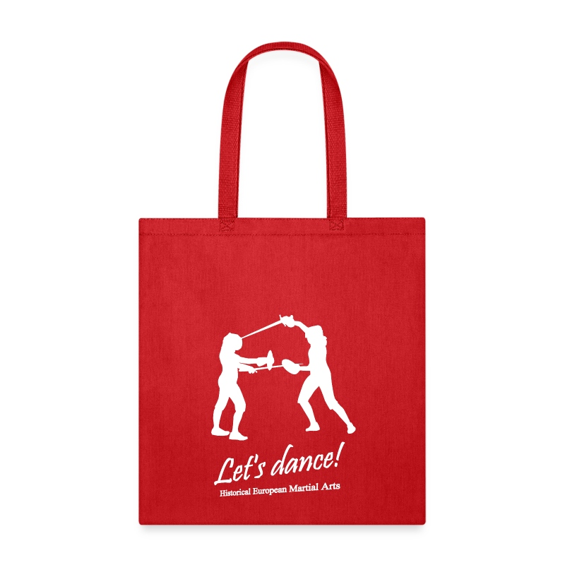 Let's dance white - Tote Bag