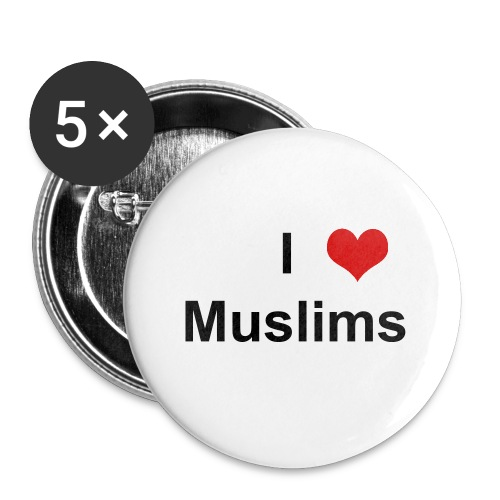I Heart Muslims - Large Buttons
