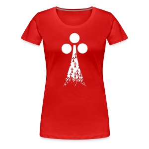 RDU in Ermine - Premium - Women's Premium T-Shirt