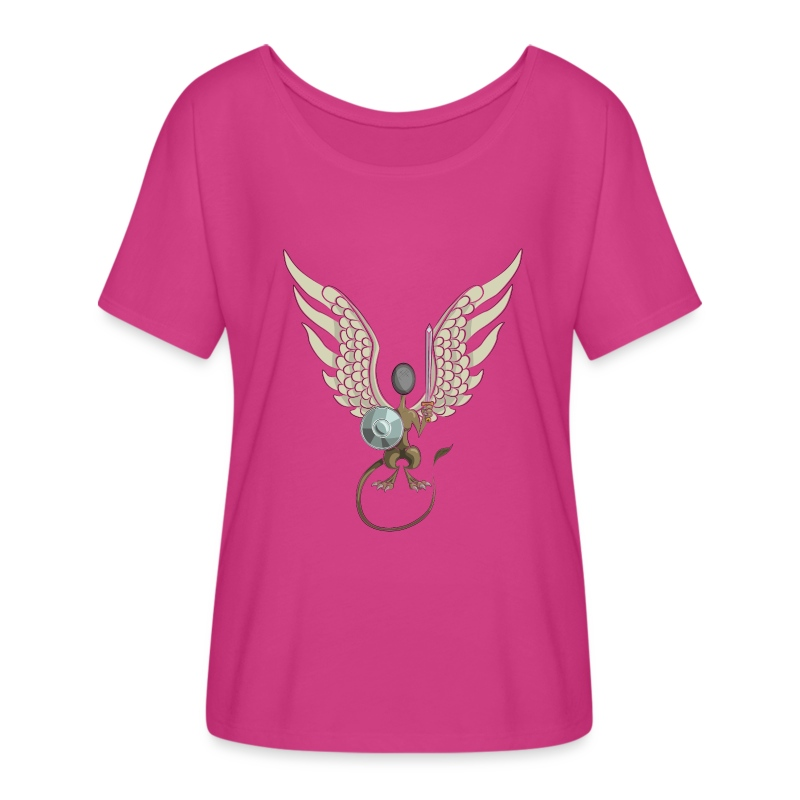 Modern Sphinx - Women's Flowy T-Shirt