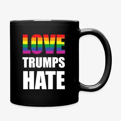 LOVE TRUMPS HATE Coffee Mug - Full Color Mug