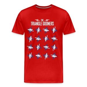 AFC-RDU Pinwheel - Premium - Men's Premium T-Shirt