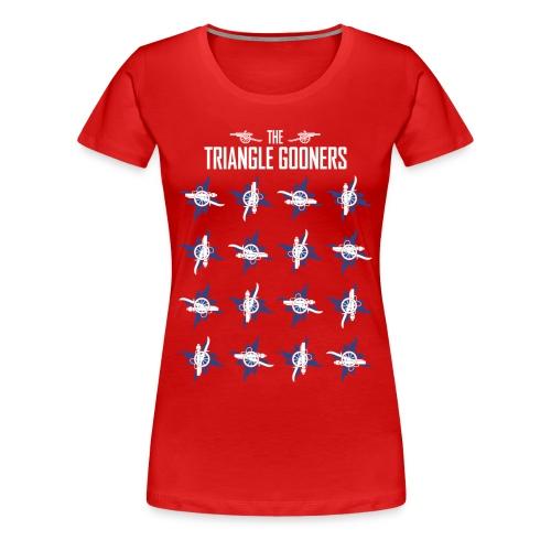 AFC-RDU Pinwheel - Premium - Women's Premium T-Shirt