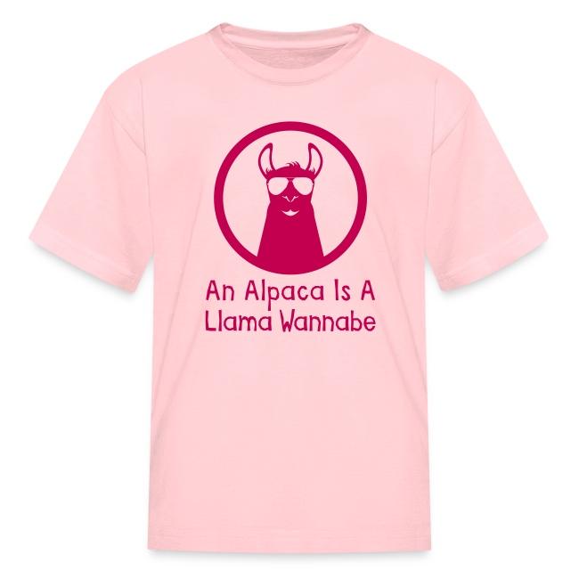 An Alpaca Is A Llama Wannabe (Kids)
