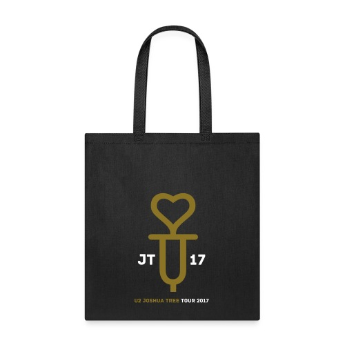 U+2=LOVE - front print gold/white - one size - multi colors - Tote Bag