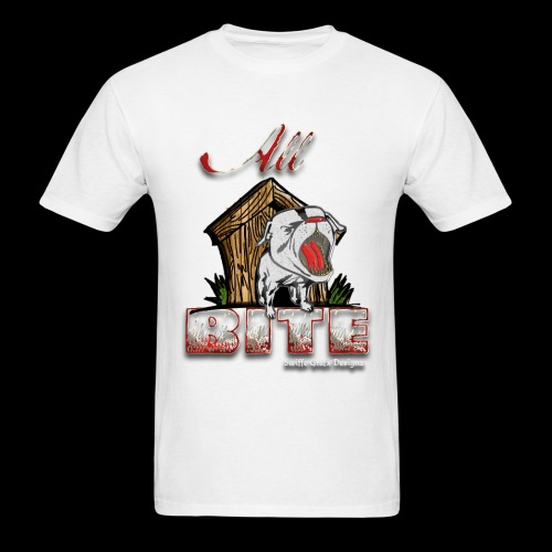 Men's White All Bite T - Men's T-Shirt