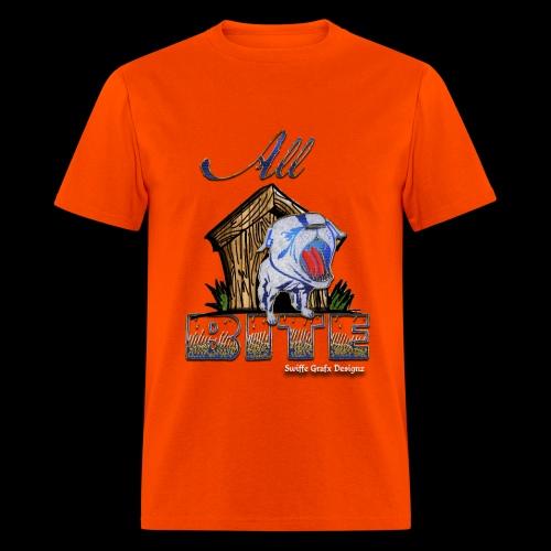 Men's Orange All Bite T - Men's T-Shirt
