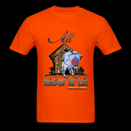 Men's Orange All Bite T - Men's T-Shirt