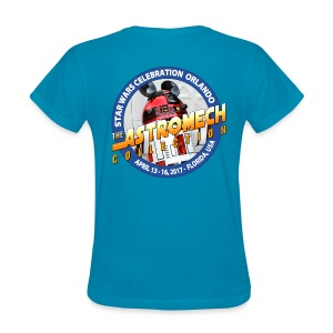 SW Celebration BACK LOGO (LADY) - Women's T-Shirt