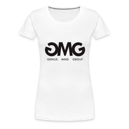Women's First Quarter Series (Small Cross On Back) - Women's Premium T-Shirt