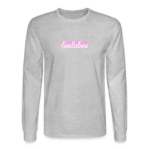 Official Louluboo Box Logo - Men's Long Sleeve T-Shirt