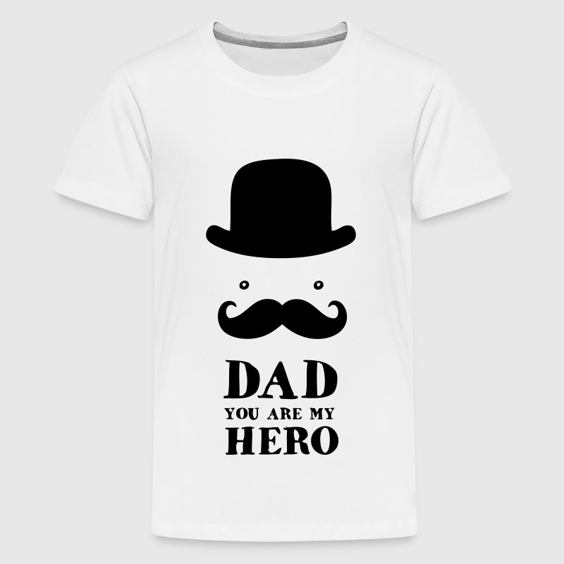 Usaprint Fathers Day Dad T Shirt My Dad My Hero Design T: Father's Day: Dad - You Are My Hero T-Shirt