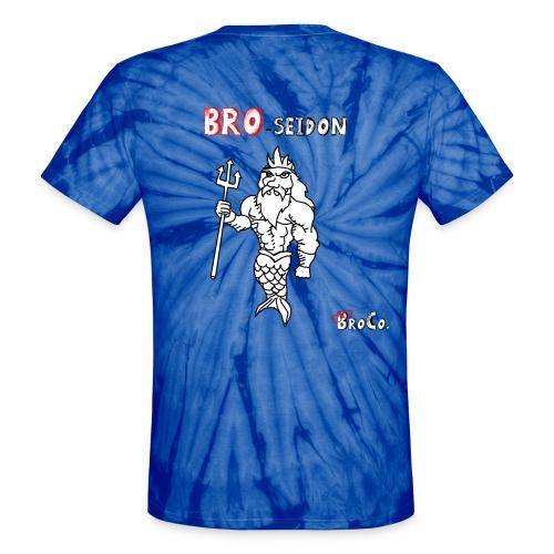 Bro-Seidon - Unisex Tie Dye T-Shirt