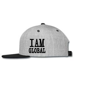 Premium IAMGLOBAL Snapback Cap - Snap-back Baseball Cap