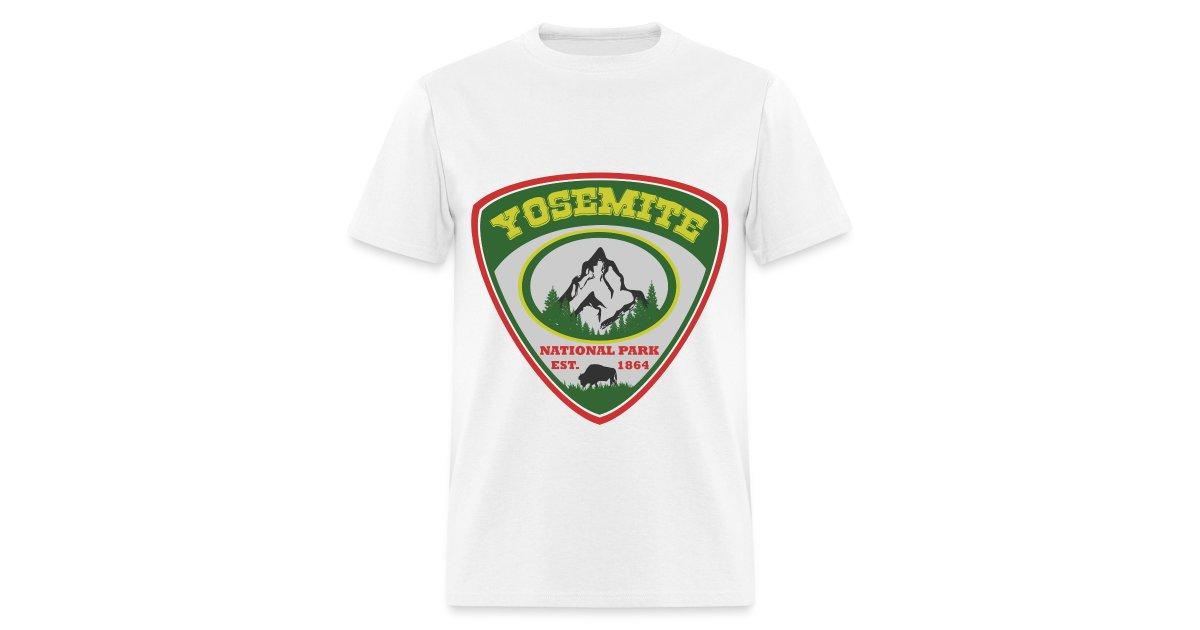 1b27c968d 100089590 | YOSEMITE NATIONAL PARK EST.1864NATIONAL PARK EST.1864YOSEMITE -  Mens T-Shirt