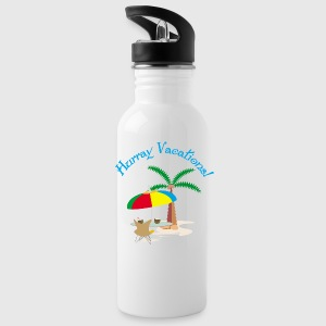 Hurray, vacation Sportswear - Water Bottle