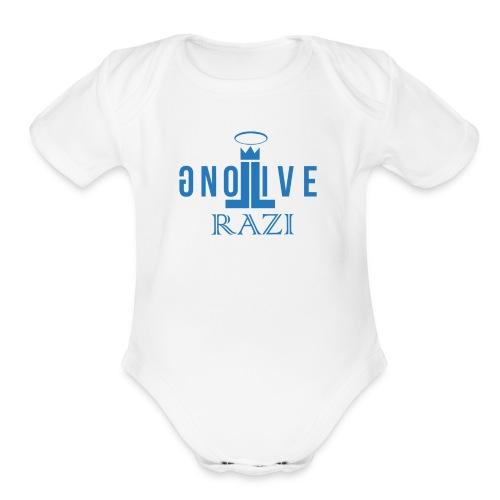 Toddler's Long Live Razi - Organic Short Sleeve Baby Bodysuit