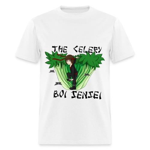 Mens Celery Boi Sensei T-Shirt - Men's T-Shirt