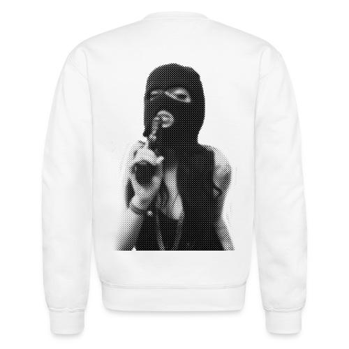 womans freedom art sweatshirt - Crewneck Sweatshirt
