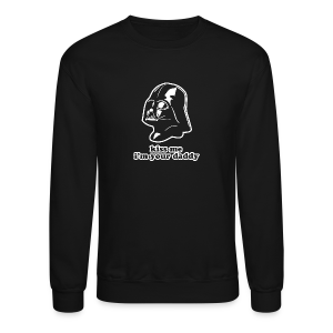 Darth Vader Kiss Me I'm Your Daddy - St. Patrick's Day - Unisex - Crewneck Sweatshirt