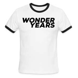 Mens Wonder Years White Ringer - Men's Ringer T-Shirt