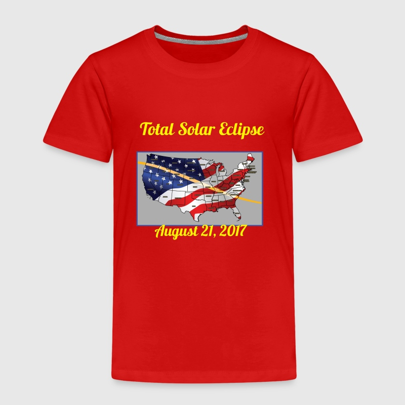 Solar Eclipse 2017 Baby & Toddler Shirts - Toddler Premium T-Shirt